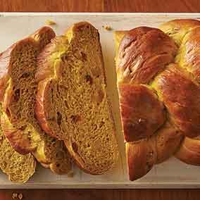 Ginger Pumpkin Braid