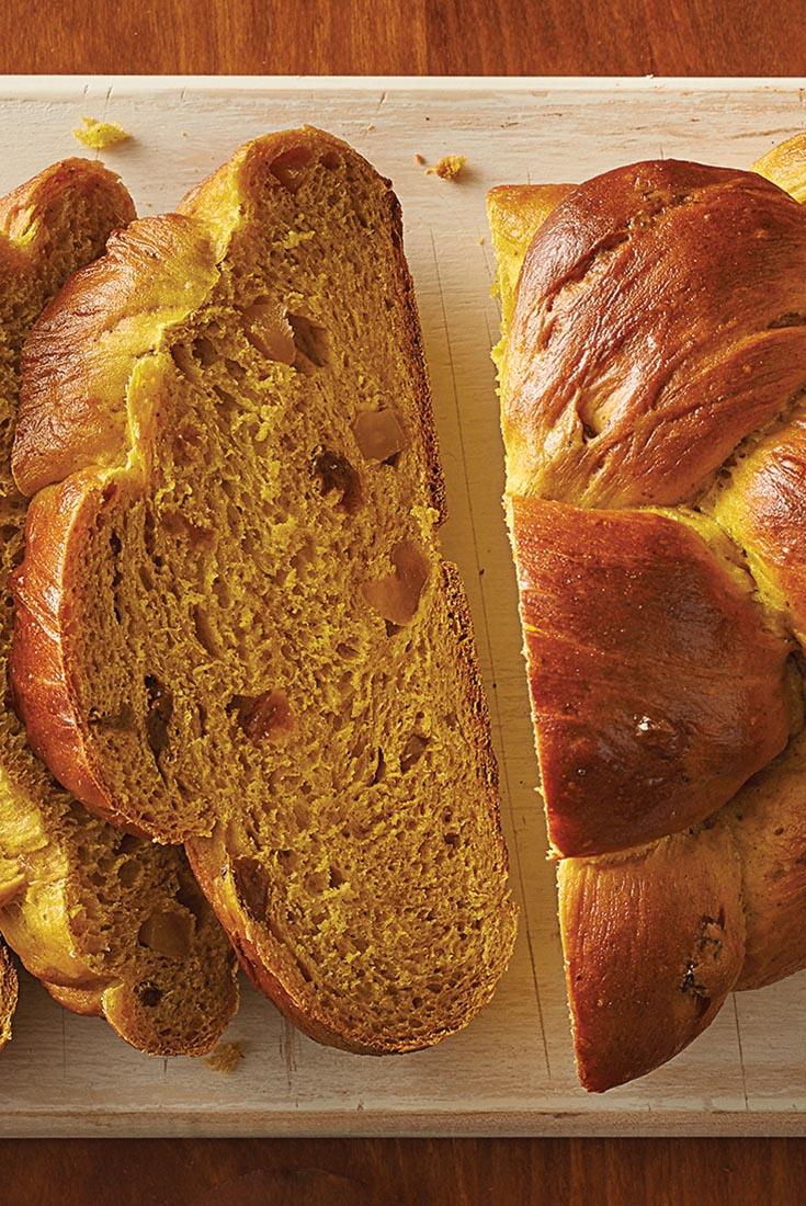 Ginger Pumpkin Braid Recipe