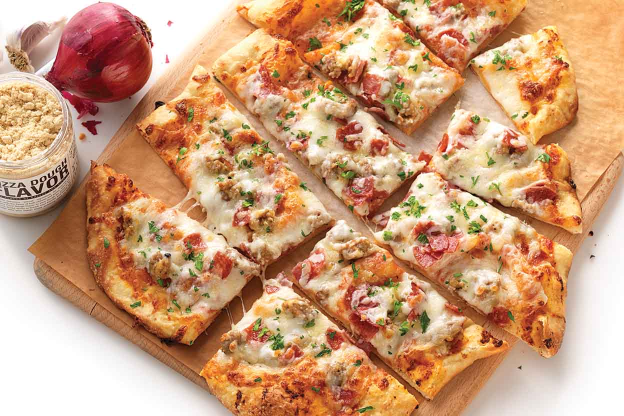Meat lovers pizza toppings nutrition
