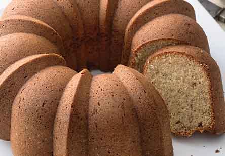 Scandinavian Gold Cake