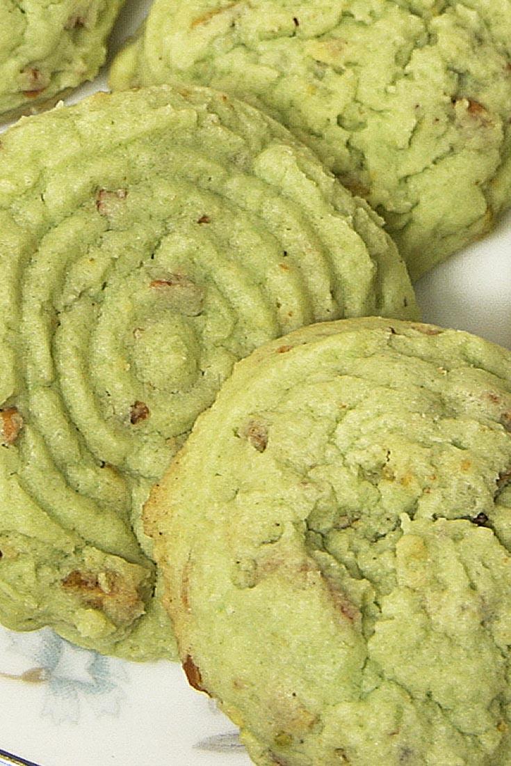 St. Pat's Pistachio Cookies Recipe