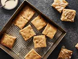 Maple Nut Blondies