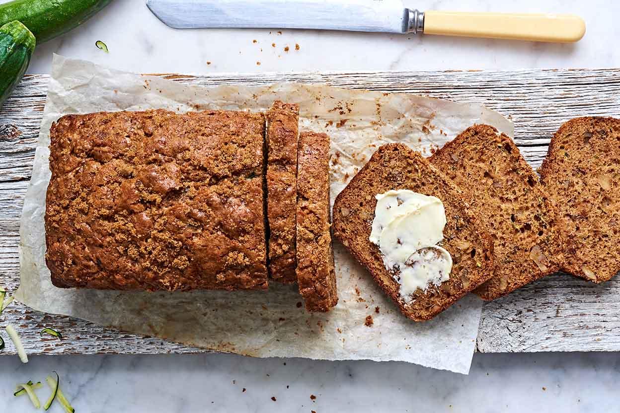 Simple zucchini bread recipe king arthur flour forumfinder Choice Image