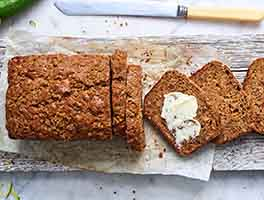 Simple Zucchini Bread