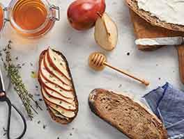 No-Knead Amaranth Honey-Nut Bread