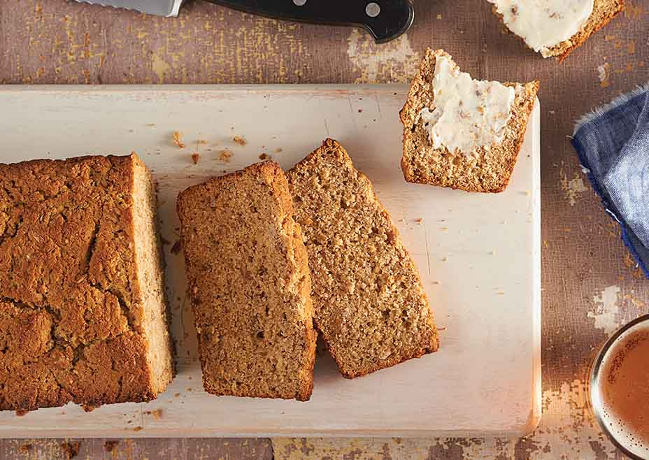 Honey Whole Wheat Beer Bread
