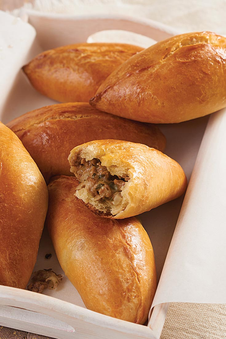 Stuffed Buns (Pirozhki) Recipe
