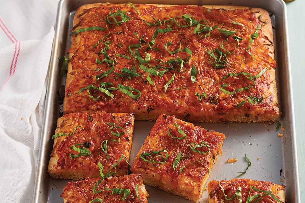 Sicilian Style Pizza Recipe King Arthur Flour