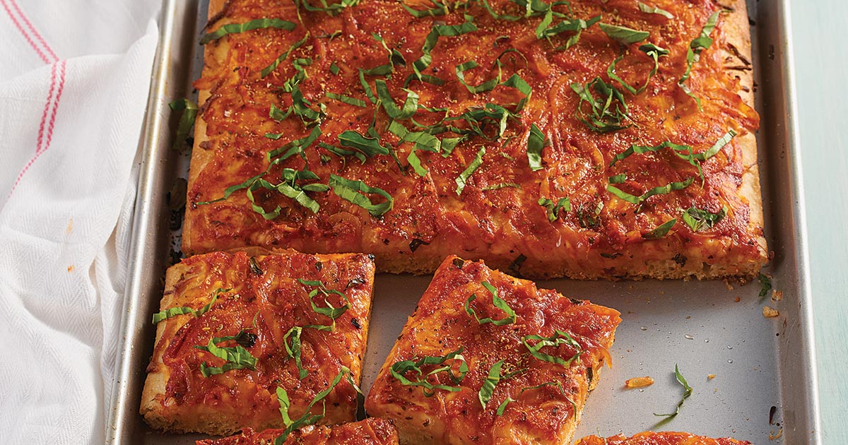 Sicilian Style Pizza Recipe King Arthur Flour