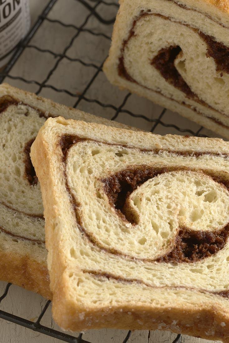 Sugar-Glazed Cinnamon-Swirl Bread Recipe