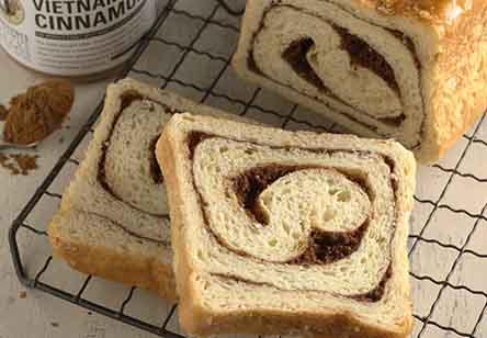 Sugar-Glazed Cinnamon-Swirl Bread