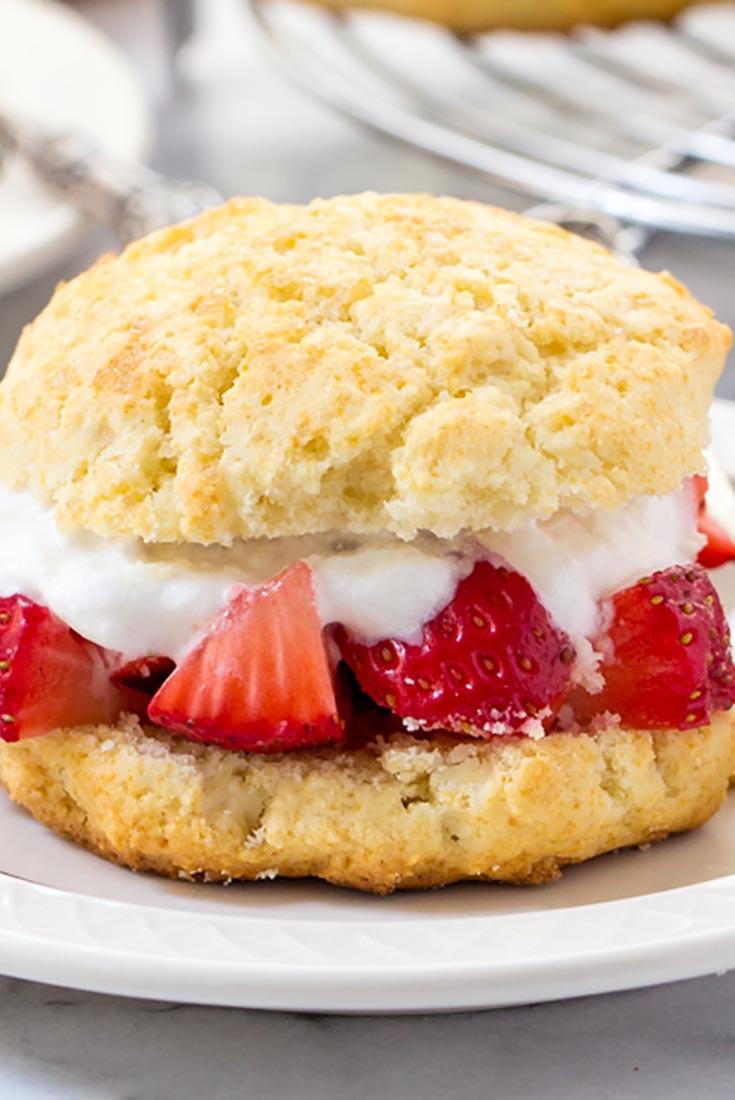 Easy Gluten-Free Shortcakes Recipe