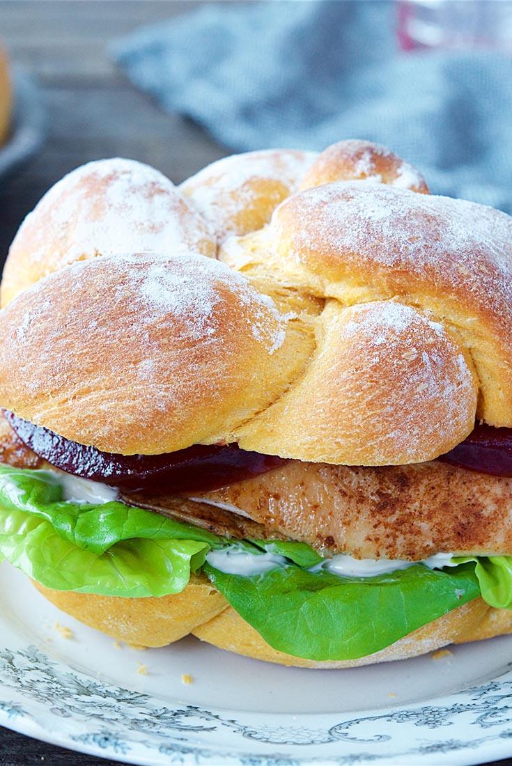 Sweet Potato Sandwich Rolls Recipe