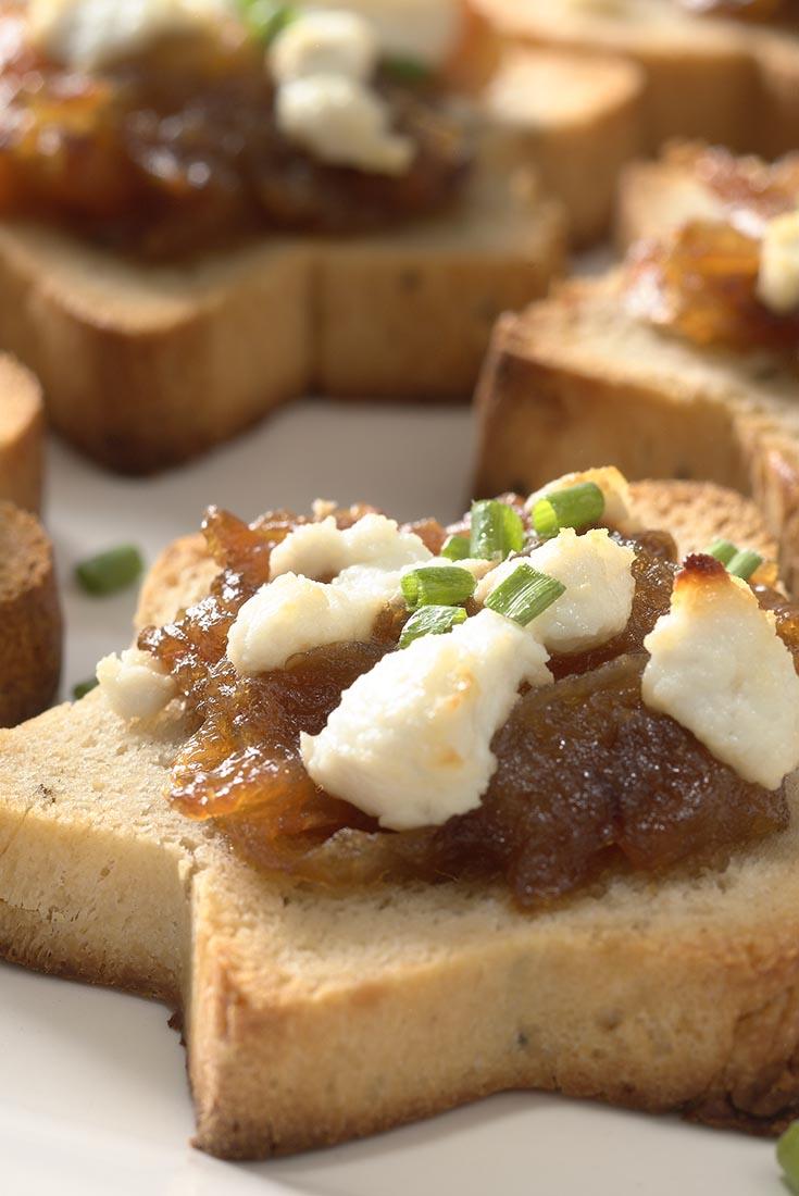 Sandwich Bread Canapés Recipe