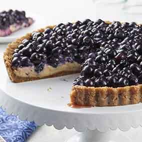 Blueberry Key Lime Tart