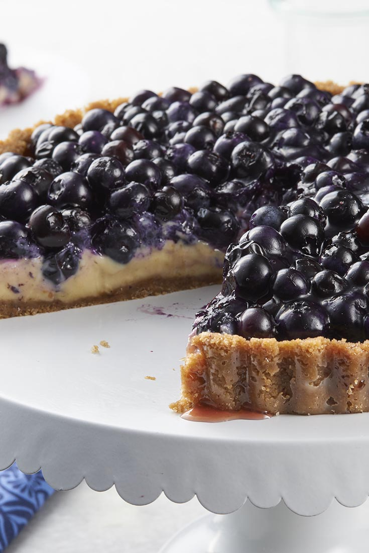 Blueberry Key Lime Tart Recipe