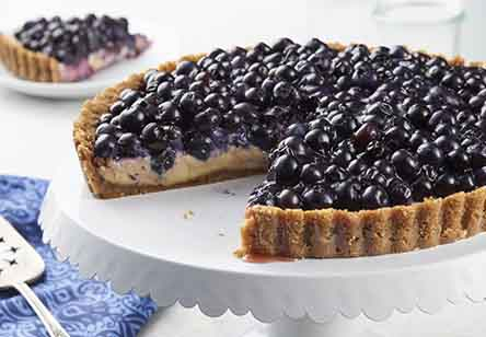 Blueberry Key Lime Tart