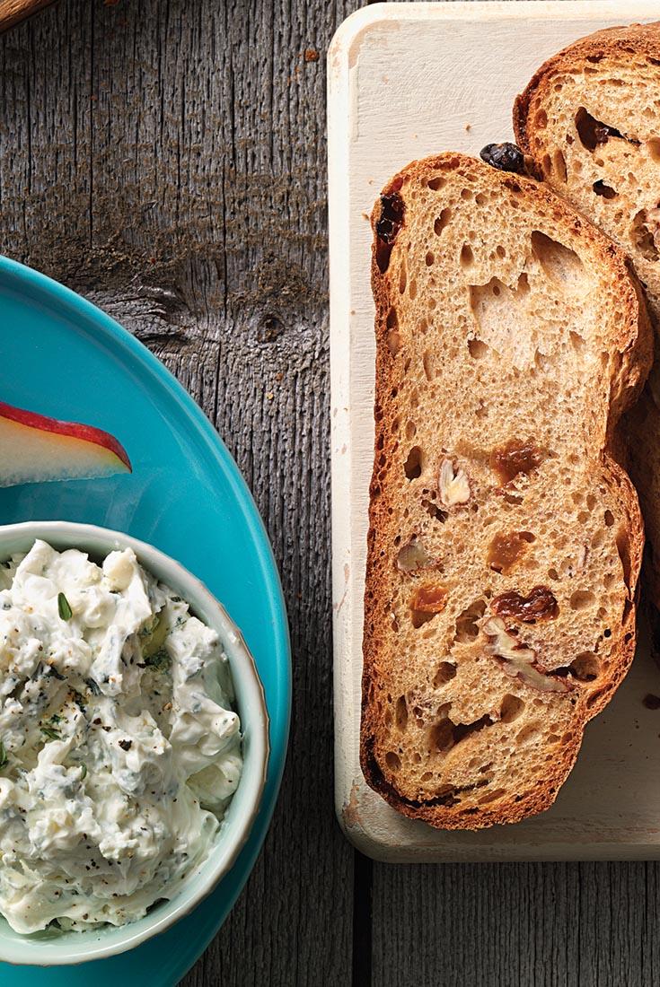 Raisin-Pecan Rye Bread Recipe