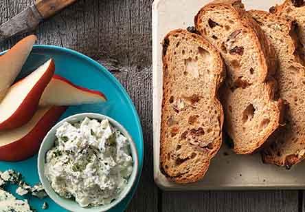 Raisin-Pecan Rye Bread