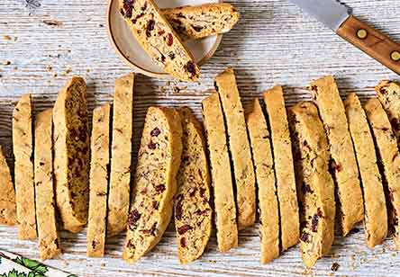 Cranberry-Nut Biscotti