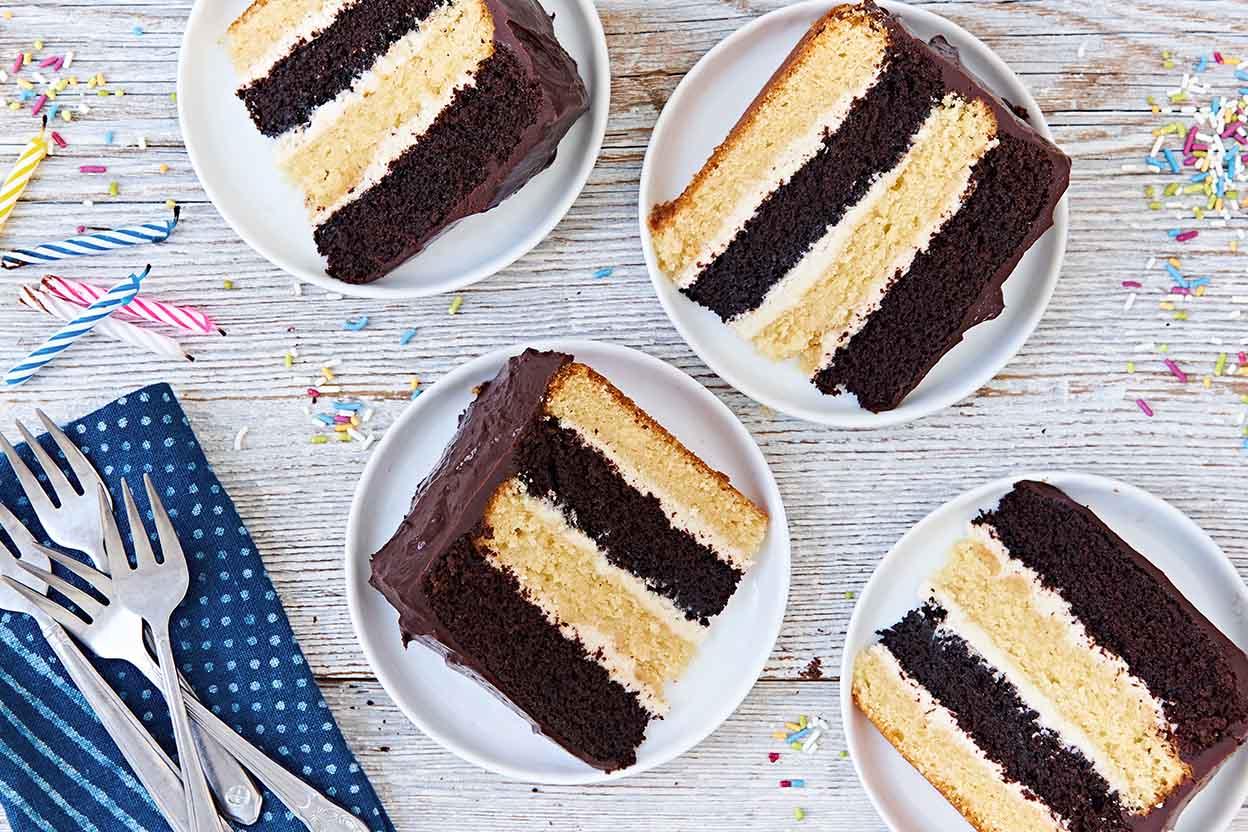 Choco-nilla Cake Recipe