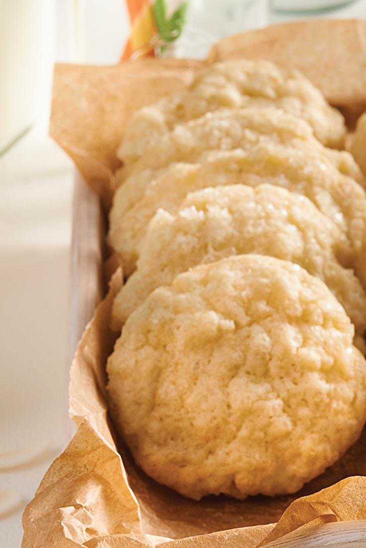 Coconut-Citrus Cookies Recipe