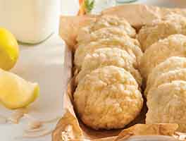 Coconut-Citrus Cookies