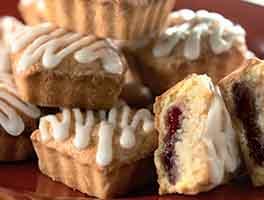 Elegant Almond Jam Tarts