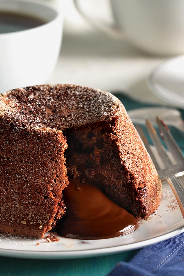 Chocolate Surprise Cakes Recipe