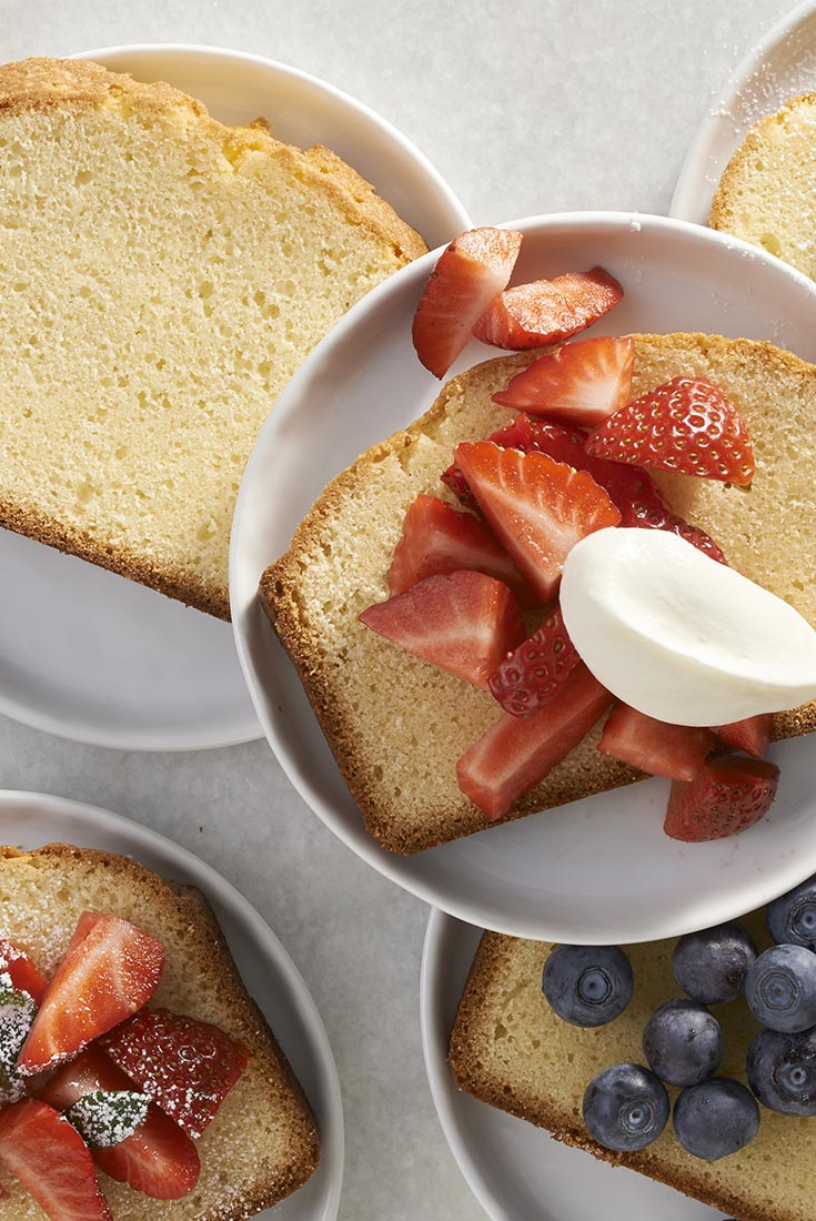 Golden Vanilla Pound Cake Recipe