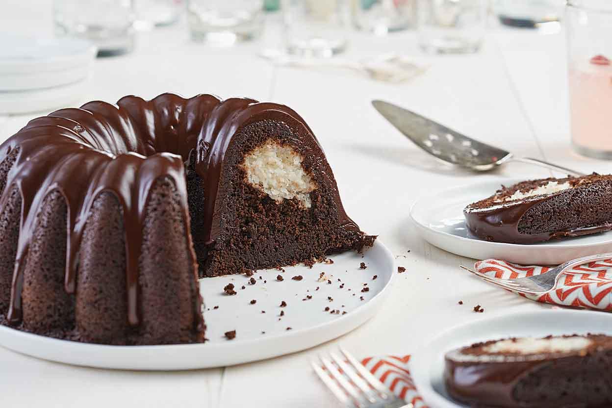 Deep Dark Chocolate Bundt Cake Recipe
