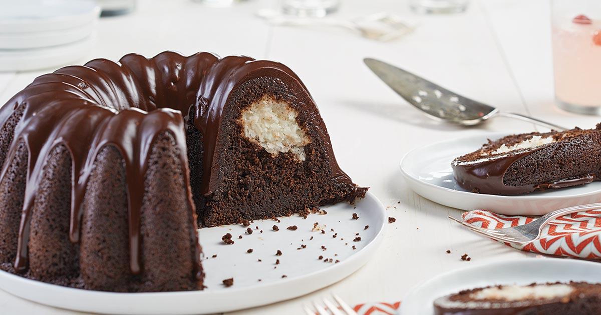Chocolate Macaroon Bundt Cake King Arthur
