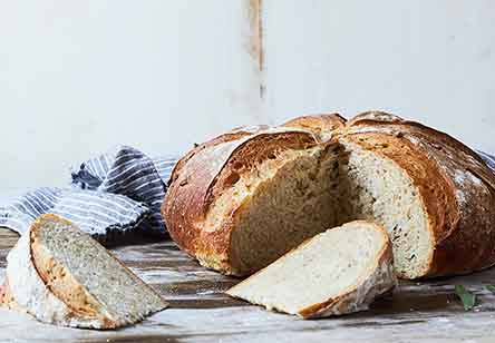 Herb Bread with Biga