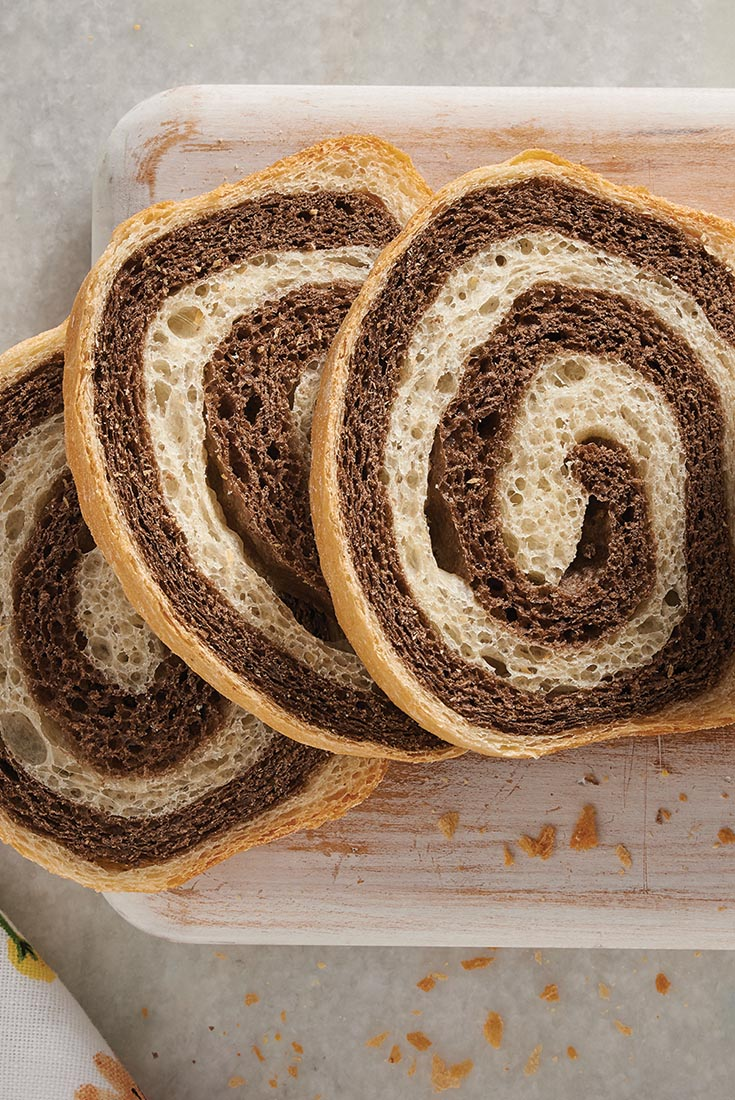 Spiraled Wheat Loaf Recipe