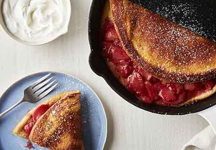 Warm Strawberry Puff