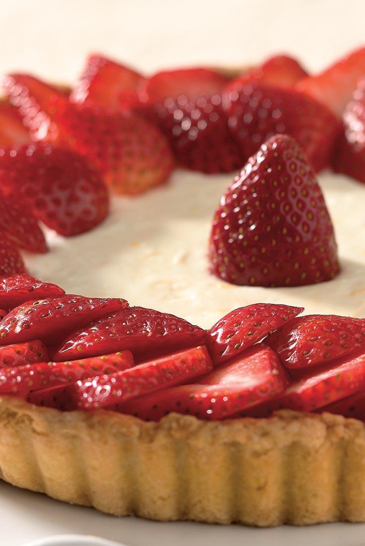Midsummer Berry Tart Recipe