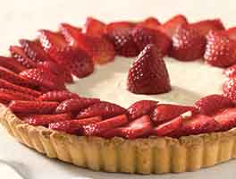 Midsummer Berry Tart