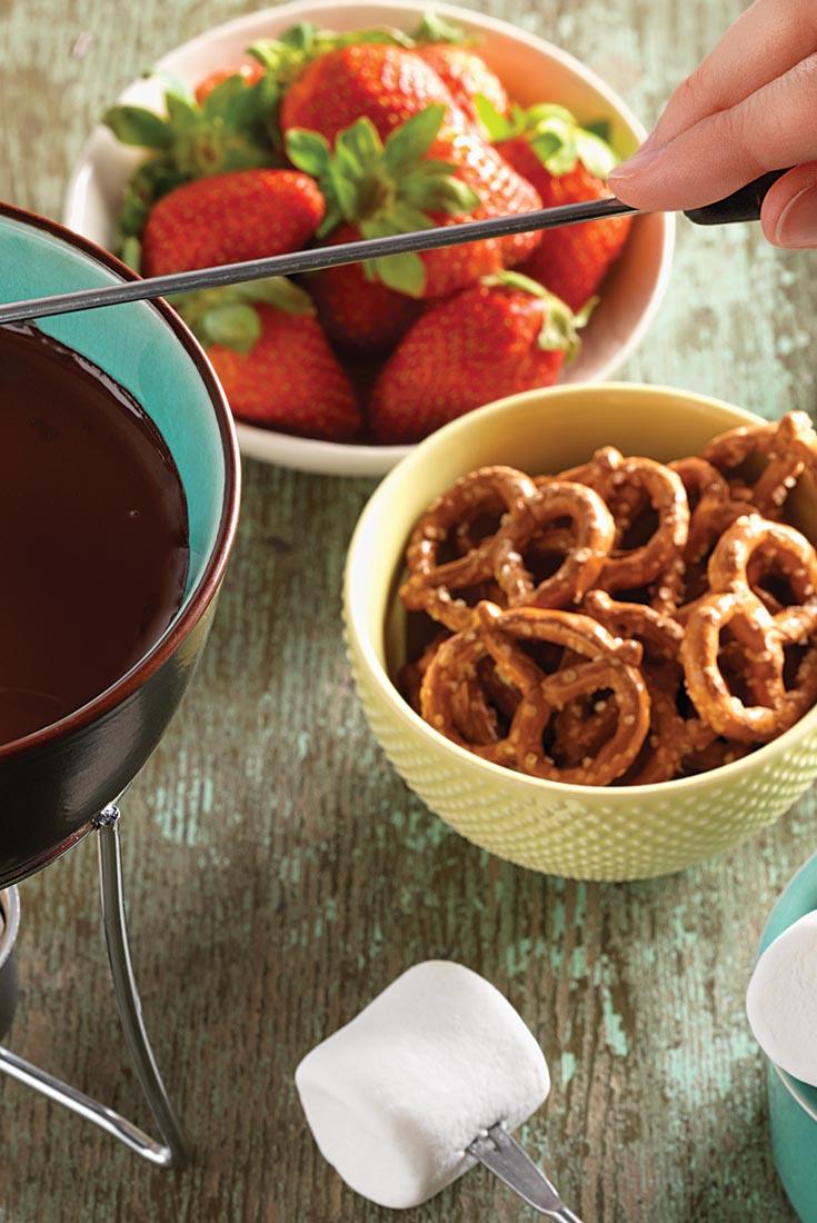 Chocolate Fondue Recipe