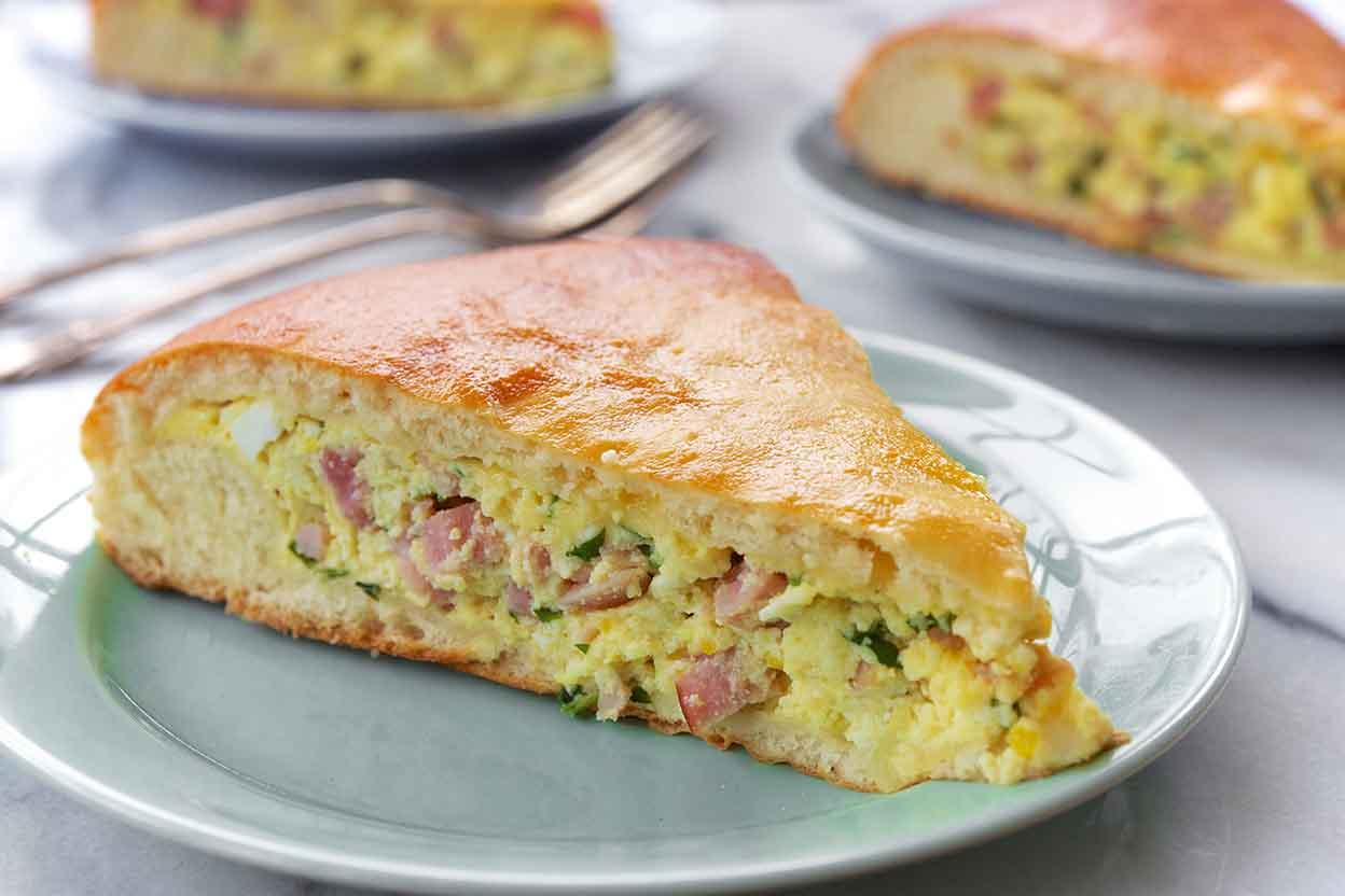 Italian Easter Pie Recipe | King Arthur Flour