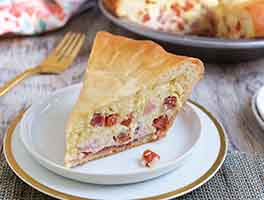 Italian Easter Meat Pie