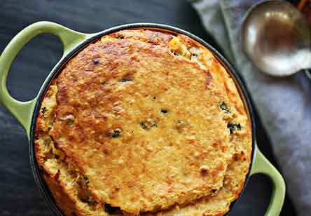Sweet Potato Spoonbread