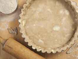 Tender Teff Pastry Crust