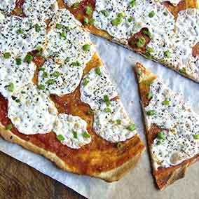Super-Fast Thin-Crust Pizza