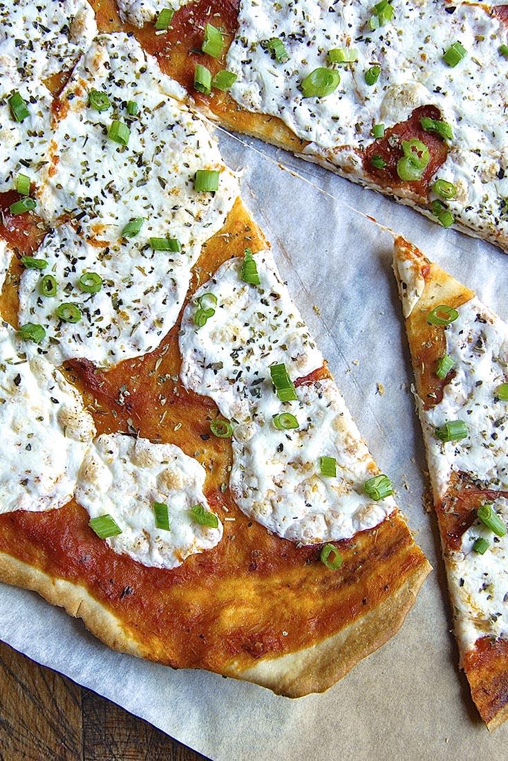 Super-Fast Thin-Crust Pizza Recipe