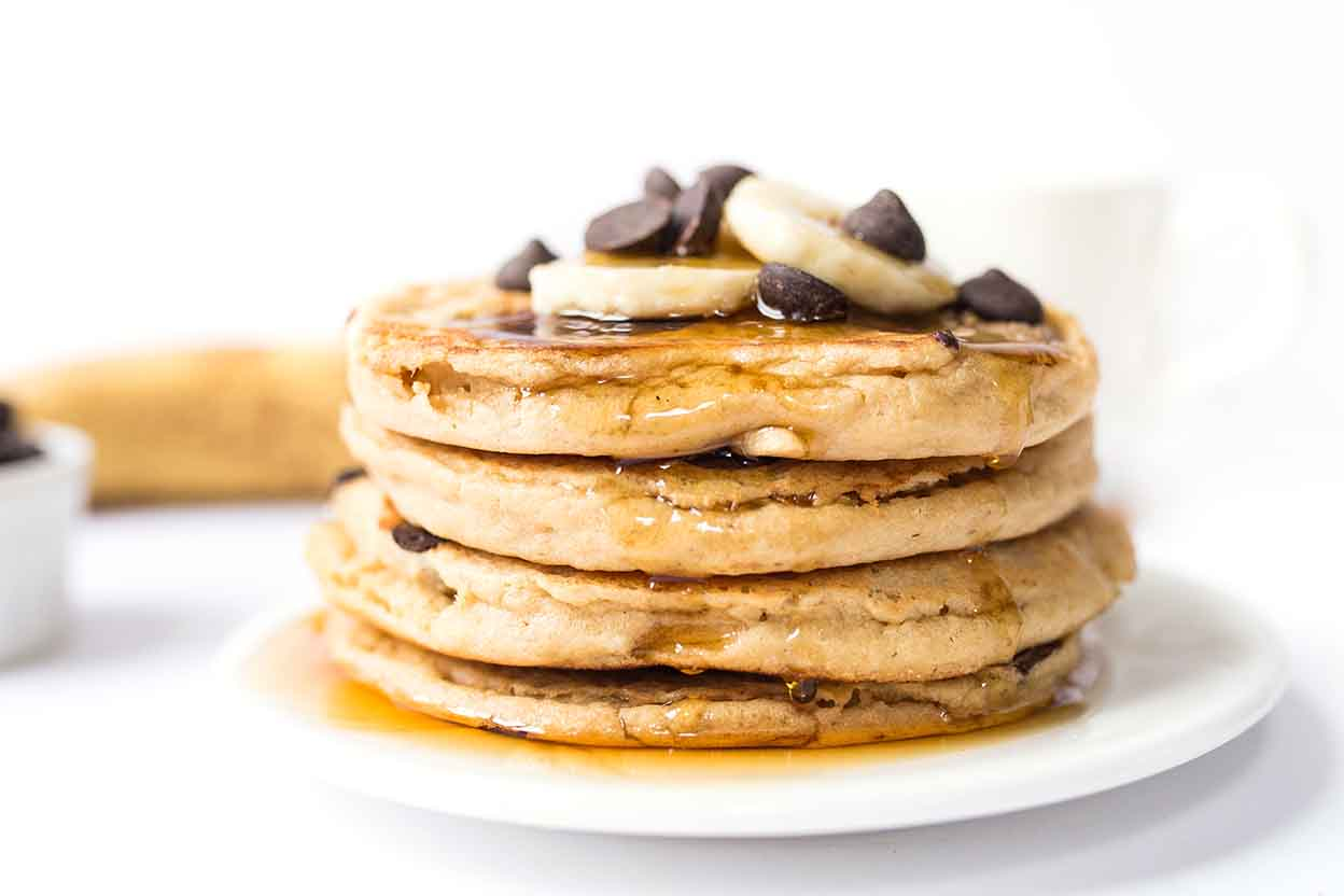 easy amaranth pancakes recipe king arthur flour