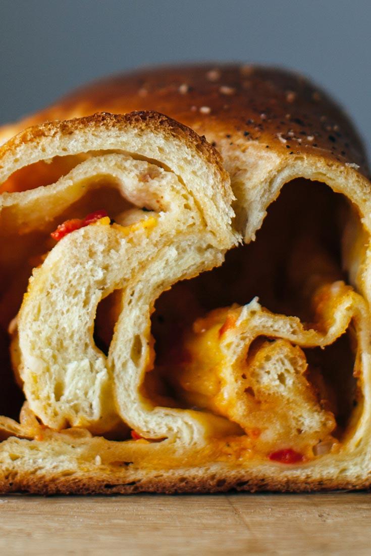 Pimento Cheese Babka Recipe