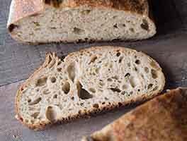 Fresh-Milled Spelt Sourdough Bread