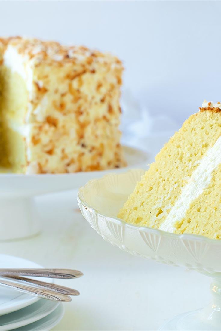 Whole Grain Pound Cake Recipe