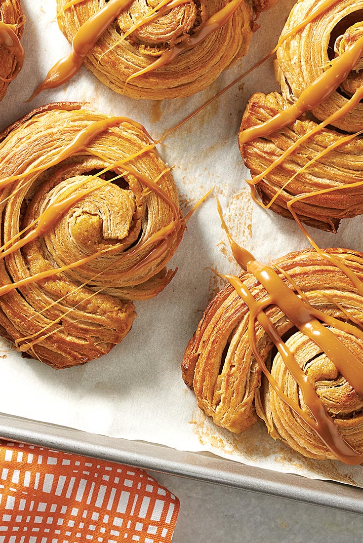 Pumpkin Cream Cheese Danish Recipe