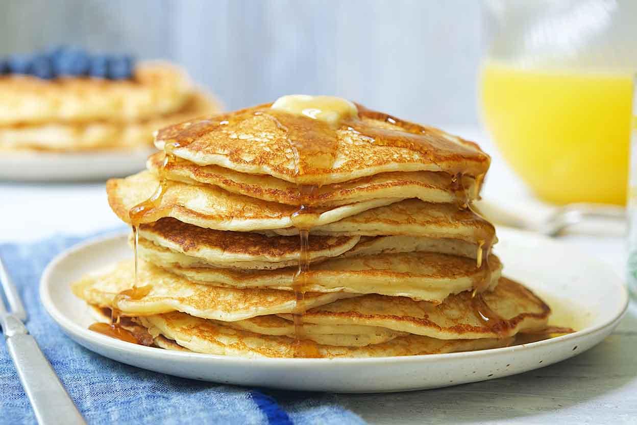Classic Sourdough Waffles or Pancakes Recipe | King Arthur Flour